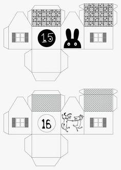 mixtum design: Letos s předstihem . Advent, Floor Plans, Diagram, Design, Floor Plan Drawing, House Floor Plans
