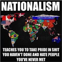Nationalism makes you care more about a stupid flag than it does over a billion people going hungry each year.  Ain't that some real shit.  Let's see how many brainwashed folks we can offend with this post    Turn On Post Notifications!  Register To Vote  Raise Awareness For Our Revolution  Donate to Bernie  #FeelTheBern #BernieSanders #Bernie2016 #Hillary2016 #Obama #HillaryClinton #President #BernieSanders2016 #election2016 #trump2016 #Vegan #GoVegan #BlackLivesMatter #SanDiego #Vote…