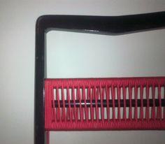 Detalhe - Cadeira com trama de corda no encosto - TRAPICHE VINTAGE