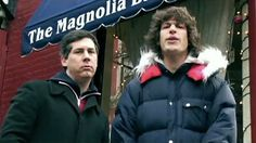 Chris Parnell with Andy Samberg in Lazy Sunday