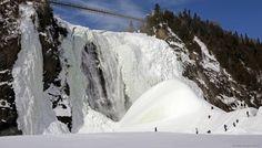 À quelques minutes de la ville de Québec et de son centre historique, se trouve l'un des joyaux de « la belle province canadienne » : le parc de la chute-Montmorency.