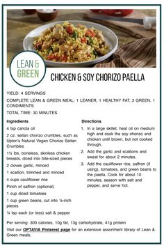 Lean Protein Meals, Lean Meals, Healthy Eating Habits, Healthy Fats, Healthy Life, Healthy Snacks, Green Chicken Recipe, Spinach Curry, Heart Healthy Recipes