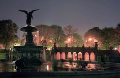Where I got engaged at midnight august august 2011 Such a Very Special Place for me ❤❤❤❤❤ Bethesda Fountain Central Park New York Starry Night Prom, New York City Central Park, Bethesda Fountain, United Nations Headquarters, New York City Photos, Evening Prayer, Cultural Capital, City That Never Sleeps, Terrace Garden