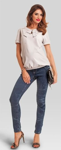 intenso jeans Maternity Jeans, Pregnancy Jeans, Capri Pants, Chic, Tops, Women, Fashion, Shabby Chic, Moda