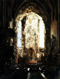 Paul Dmoch Maitre-autel, Michaelerkirche, Vienne