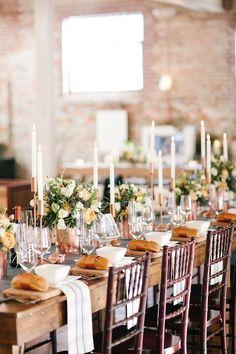 Urban Chic Winter Wedding Inspiration { Black + Cream + Copper + Gold + Green }