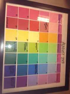 Day Week Calendar To Use At My School I Made It In School