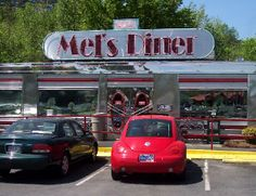 Ate at Mel's Diner, Pigeon Forge