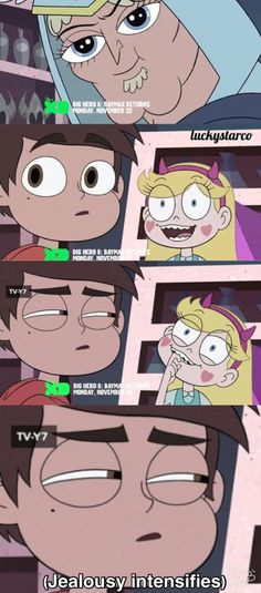 (Jealousy intensifies) |Star vs the Forces of Evil| Credit to Livie DeCaigny