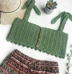 Crochet Swimwear Festival top boho top crop top crochet top crochet crop top bralette croch Source by johanna_fritsch boho Crochet Bikini Pattern Free, Crochet Bikini Top, Free Crochet, Knit Crochet, Easy Crochet, Free Pattern, Doilies Crochet, Crochet Summer, Crochet Tops