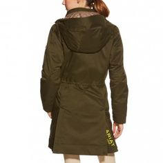 Ariat Ladies Madden Parka - Kombu, if you are not 100% satisfied our excellent customer service is standing by to help. For walking and riding, the ladies Madden