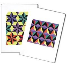 United Art and Education Art Project:  Keep kids busy with this homemade cling vinyl pattern board!