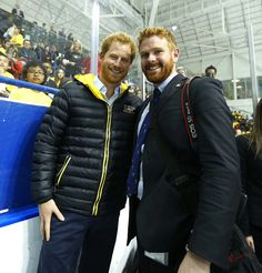 There's another ginger at the Invictus Games whom people have mistaken for Prince Harry