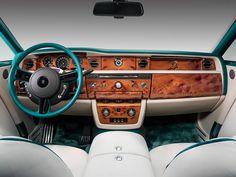 Rolls-Royce Phantom Maharaja Peacock Drophead Coupé