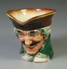 "Royal Doulton Dick Turpin toby jug, 3 1/4"" tall"
