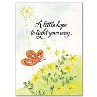 11 best encouragement praying for you cards images on pinterest a little hope to light your way encouragement card m4hsunfo