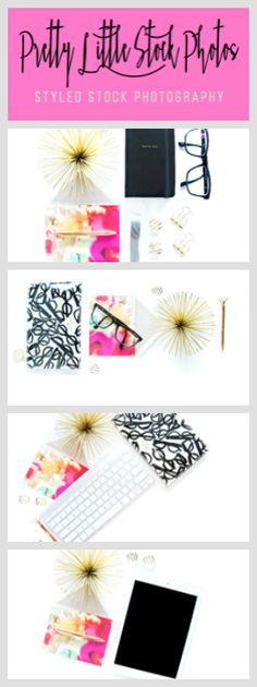 These photos would make a great set for a Creative Female Blogger! <3 by Pretty Little Stock Photos