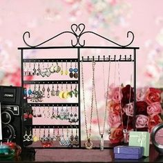 Jewelry Holder, Jewelry Stand for Earrings / Necklaces / Brecelets, Gift Idea    Price: $16.75