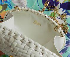 Купить Сумочка Rodo, винтаж, Италия, соломка, клатч - винтаж, винтажный, винтажная сумка