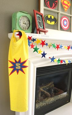 DIY Personalized Superhero Cape from a T-Shirt - Happiness is Homemade directions, iDye for color