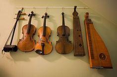 variety of string instruments