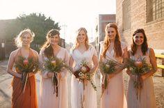 kinfolk bridesmaids