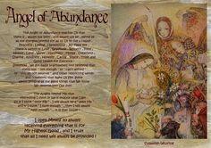 angel blessings: ANGEL OF ABUNDANCE