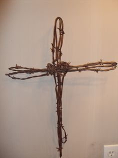 Barb Wire Cross