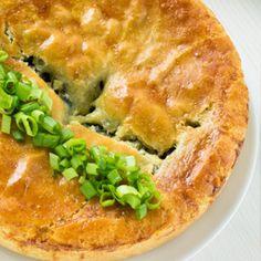 Chicken and Leek Pie in the Saute Pan! #dinner #pie #chefstoolbox