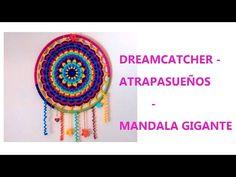 Crochet Spiral Dream Catcher Tutorial (Part Crochet Toys, Crochet Baby, Free Crochet, Knit Crochet, Crochet Shawl Diagram, Dream Catcher Tutorial, Baby Leg Warmers, Handbag Patterns, Crochet Mandala