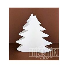 Christmas tree cardstock Tree Cut Out, Christmas Cards, Christmas Tree, Card Stock, Products, Christmas E Cards, Teal Christmas Tree, Xmas Cards, Paper Board
