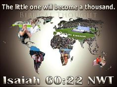 Love to all Jehovahs people world wide <3