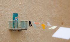 Tiny figures art slinkachu