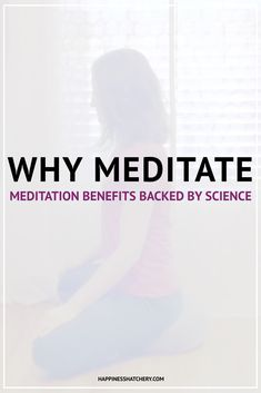 Why meditate? We hear that meditation is good for us, but what does it really do? Here are five meditation benefits backed by science to improve your health and happiness. What Is Meditation, Meditation Benefits, Habit Formation, Stress Relief Tips, Learn To Meditate, Meditation For Beginners, Dealing With Stress, Self Compassion, I Need To Know