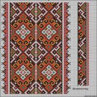 Gallery.ru / Фото #15 - схемы для вышиванок - zhivushaya