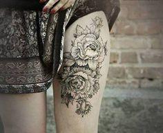 tattoo mujeres pierna - Buscar con Google