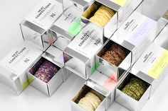 Neat Confections branding by Anagrama