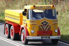 Foden Elliotts of York Cool Trucks, Big Trucks, Old Lorries, Old Commercials, Commercial Vehicle, Tow Truck, Vintage Trucks, Car Humor, Classic Trucks