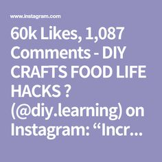 """60k Likes, 1,087 Comments - DIY CRAFTS FOOD LIFE HACKS 📌 (@diy.learning) on Instagram: """"Incredible Food! 😍 Follow: @diy.learning ❣️ Sigan: @diy.learning ❣️ By: @chefclubtv 👏👏 ⠀⠀ DOUBLE…"""""""