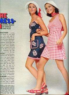 Seventeen magazine March 1969. Models Colleen Corby and Jolie Jones photographed by Marc Hispard. Jolie is the daughter of Jeri Caldwell and Quincy Jones.