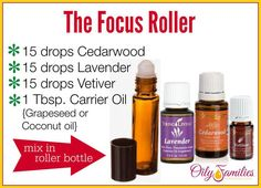 With Essential Oils: Supporting Mental Focus The Focus Roller by Young LivingThe Focus Roller by Young Living Doterra Essential Oils, Natural Essential Oils, Essential Oil Blends, Essential Oils Autism, Doterra Adhd, Valor Essential Oil, Natural Oils, Young Living Oils, Young Living Essential Oils