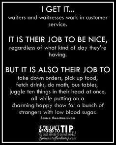 So cut us some slack! - Lol @ my life. Server Quotes, Server Memes, Server Humor, Waitress Humor, Waitress Problems, Restaurant Humor, Work Memes, Work Humor, Server Problems
