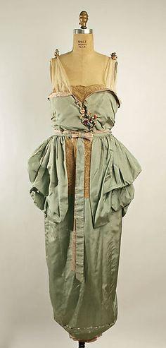 Evening dress (image 1) | Lucile | British | 1919 | silk, cotton | Metropolitan Museum of Art | Accession Number: 1979.569.4