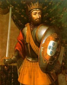 Portrait of D. Afonso III as king of Portugal Old Portraits, Family Portraits, Kingdom Of Navarre, Adele, Portuguese Royal Family, History Of Portugal, Eleanor Of Aquitaine, Braga Portugal, Royal Family Trees
