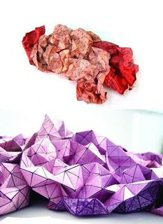 3D fabric by Mika Barr