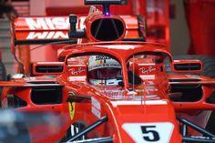 セバスチャン・ベッテル、赤旗中の減速不足で3グリッド降格ペナルティ  [F1 / Formula 1] Formula 1, F1 News, Ferrari F1, One Pic, Motors, Art Deco, Racing, Passion, War