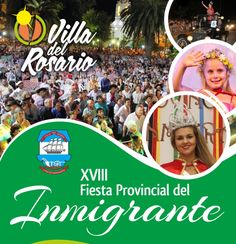 16 Enero Villa del Rosario - Fiesta del Inmigrante 2016   Region Litoral