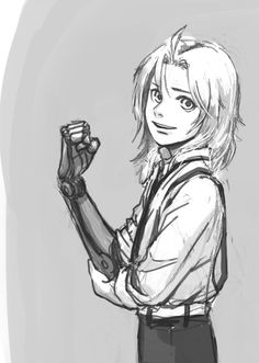 Hagane no Renkijutsushi - Edward