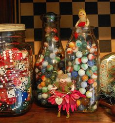 I all ready have the marbles but I'm loving the collection of dice! hmmm...