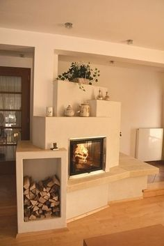 Article & Content Page Home Living Room, Living Room Designs, Town Country Haus, Fireplace Design, Dream Decor, Home Hacks, Modern House Design, New Homes, Sweet Home